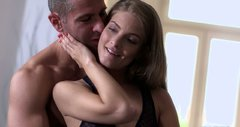 Cayenne Klein gives her boyfriend the best blowjob he's ever had