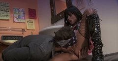 Sultry Japanese chick Kaylani Lei rides dick after it gets hard