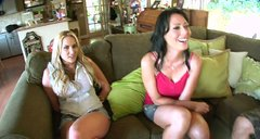 Alanah Rae, Giselle Leon and Zoey Holloway give blowjobs
