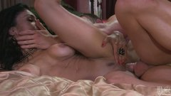 Awesome busty chick Persia Pele gets her cooch fucked mish
