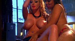 Sweet chicks Sophie Dee & Tasha Lynn warm up with hot masturbation