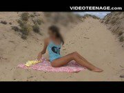 sexy teens at beach compilation