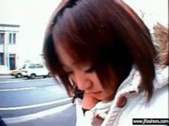 Japanese Girl Flashing And Having Sex video-30