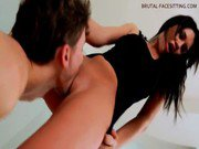 BEST Facesitting - Russian Mistress Brunette