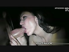 Glamour gf cum in mouth