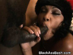 Black Ghetto Sluts With Great Big Asses In A Threesome