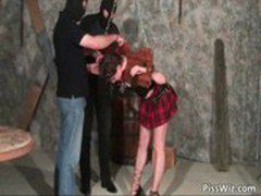 Hot and wild slut get punished by some