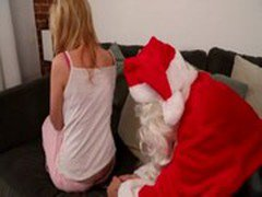 Beautiful Pornstar Molly Bennett  fucked by Santa Claus