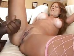 Hot Milf With Big Ass -Tits VS BIG BLACK COCK