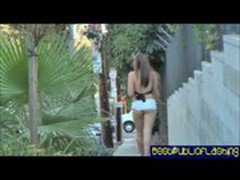 Elizabeth D. - Nude In Public Flashing Hottie pt1