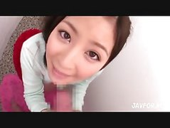 Japanese slut in POV action