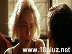 Very Hot Scenes Of Sharon_Stone From Silver_All Scenes