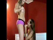 Lesbian Babes Trying Out Different Toys On Webcam