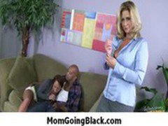 Mommy go black - Interracial hardcore MILF porn video 29