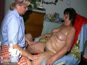 OldNanny Fat granny hairy pussy and young girl with big tits