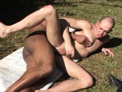 Muscular and Beefy Gays Lost in Woods and Decided to Fuck