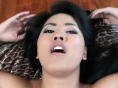 Asian Ex Girlfriend Fucked And Cumshot On Stomach POV