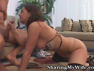 Cock-Hungry Wife Takes New Man