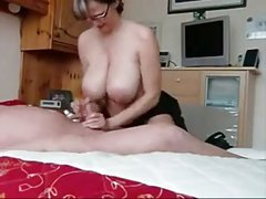 Busty Step Mom Handjob