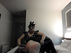 215 Spanks To See In 2015 (Transvestite Spanking)
