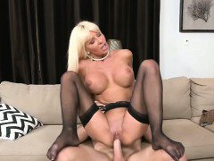 Horny MILF Kasey Bouncing Hard On Studs Stiffy