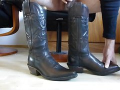 Cum in wifes cowboy boots