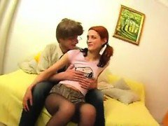 Anal Creampie For A Russian Teen Girl