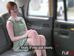 Zara [Fake Taxi] Horny Redhead Tempts Driver With Sex for Taxi Fare