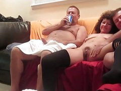 Wife swallows cum for the first time