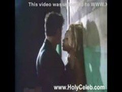 BLONDE PAMELA ANDERSON GETS FUCKED AGAINST A WALL CLIP