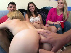 Hot Group Sex College Style