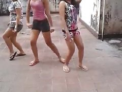 Asian group dance