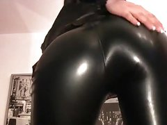 Leather Tease- JOI