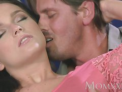 MOM young   with round bum sucks and fucks her Sugar dadd