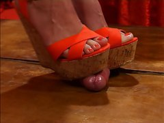 Cock Crush Cork Wedges