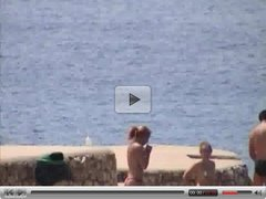Candid Beach - topless girls