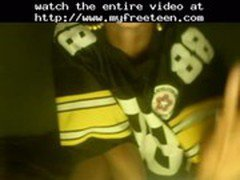 Uncle Jeb - Steeler Fan!...  teen amateur teen cumshots swallow dp anal