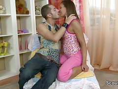 Step-brother With Big Dick Show German not Step-sister Fuck
