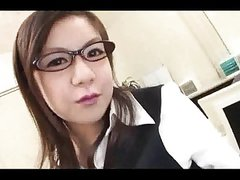 Beautiful Japanese Office Lady