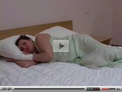 Man Waking Up Busty Housewife