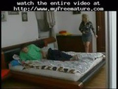 Lustful Old Russian Blonde Fucked By Young Guy (compilftion)  mature mature porn granny old cumshots