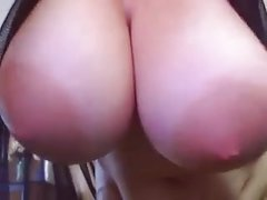 Webcam big boobs and areolas