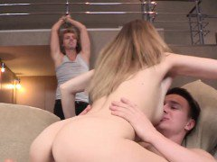 Teen revenges on her cheating paramour with a gracious lad