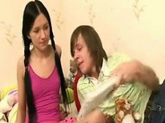 Cute young russian couple Flora from dates25com