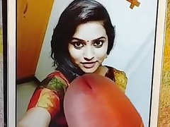 Vijay TV anchor Jacqueline cum tribute 3