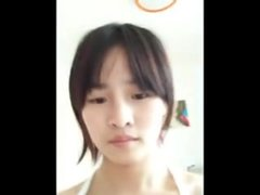Asian Teen dancing - Nipple slip