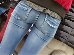 nice teens butts shopping in tight pants
