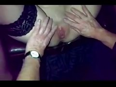 Hot & Nasty theater slut - Slut tatoo on labia