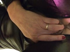 Lesbian mother in law seduces friend's