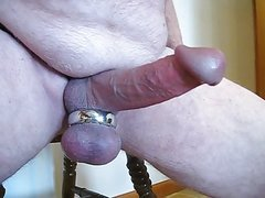 Heavy ball ring jack off